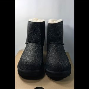 Authentic Ugg Mini Bailey Bow Sparkle Boots
